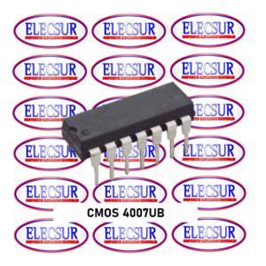 CMOS CD4007UBE