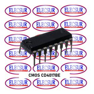 CMOS CD4017BE